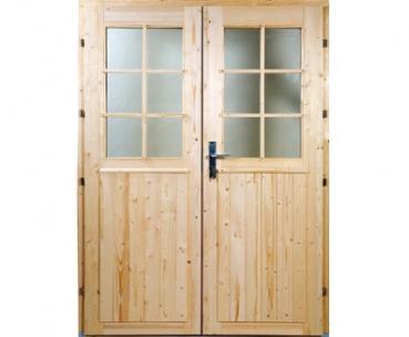 Fabulous Gartenhaus Doppeltüren zum Selbstbau PP99