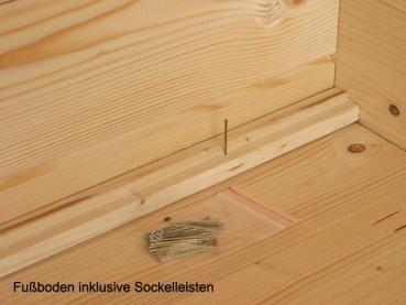 Fußboden Im Gartenhaus ~ Gartenhaus lyon b mit fussboden von wolff finnhaus