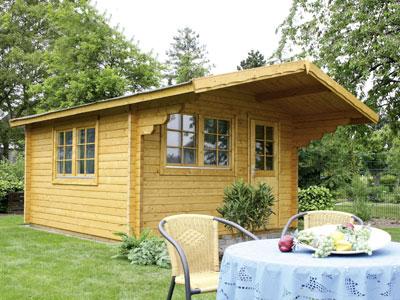 gartenhaus finnland 70 mm 3 80 x 3 80 m. Black Bedroom Furniture Sets. Home Design Ideas