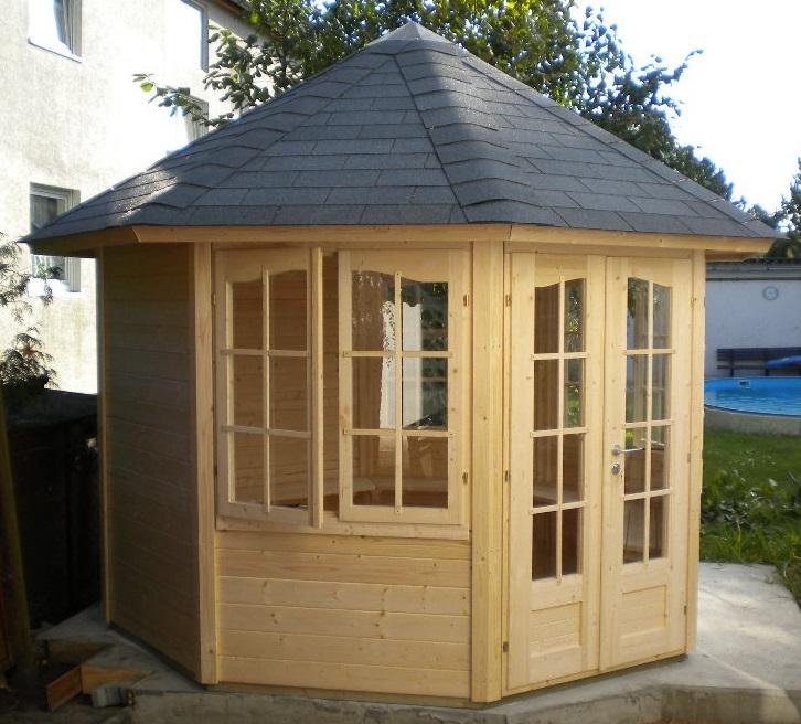 8 eck pavillon sosua 3 10 m. Black Bedroom Furniture Sets. Home Design Ideas