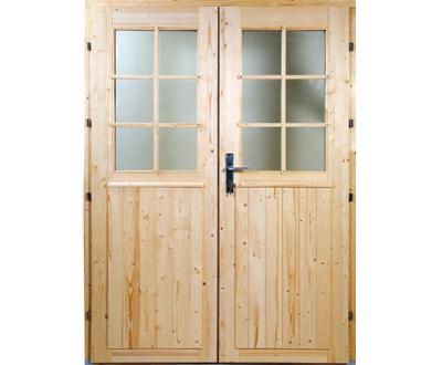 Doppeltür Holz gartenhaus doppeltür 1 2 verglast größe 1 425 x 1 955 m