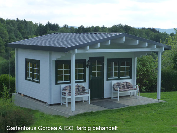 gartenhaus gorbea 70 a iso gr e 5 00 x 4 00 m. Black Bedroom Furniture Sets. Home Design Ideas