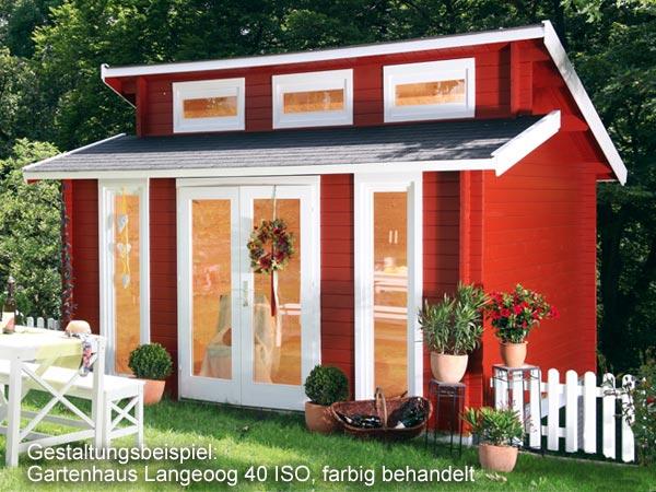 Gartenhaus 4 X 3 OP95 – Hitoiro