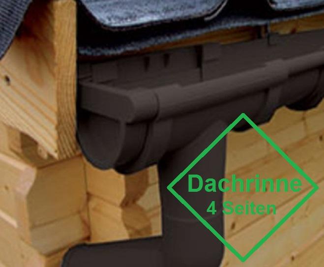 pvc dachrinne 4 seiten bis 3 50 m dachl nge. Black Bedroom Furniture Sets. Home Design Ideas