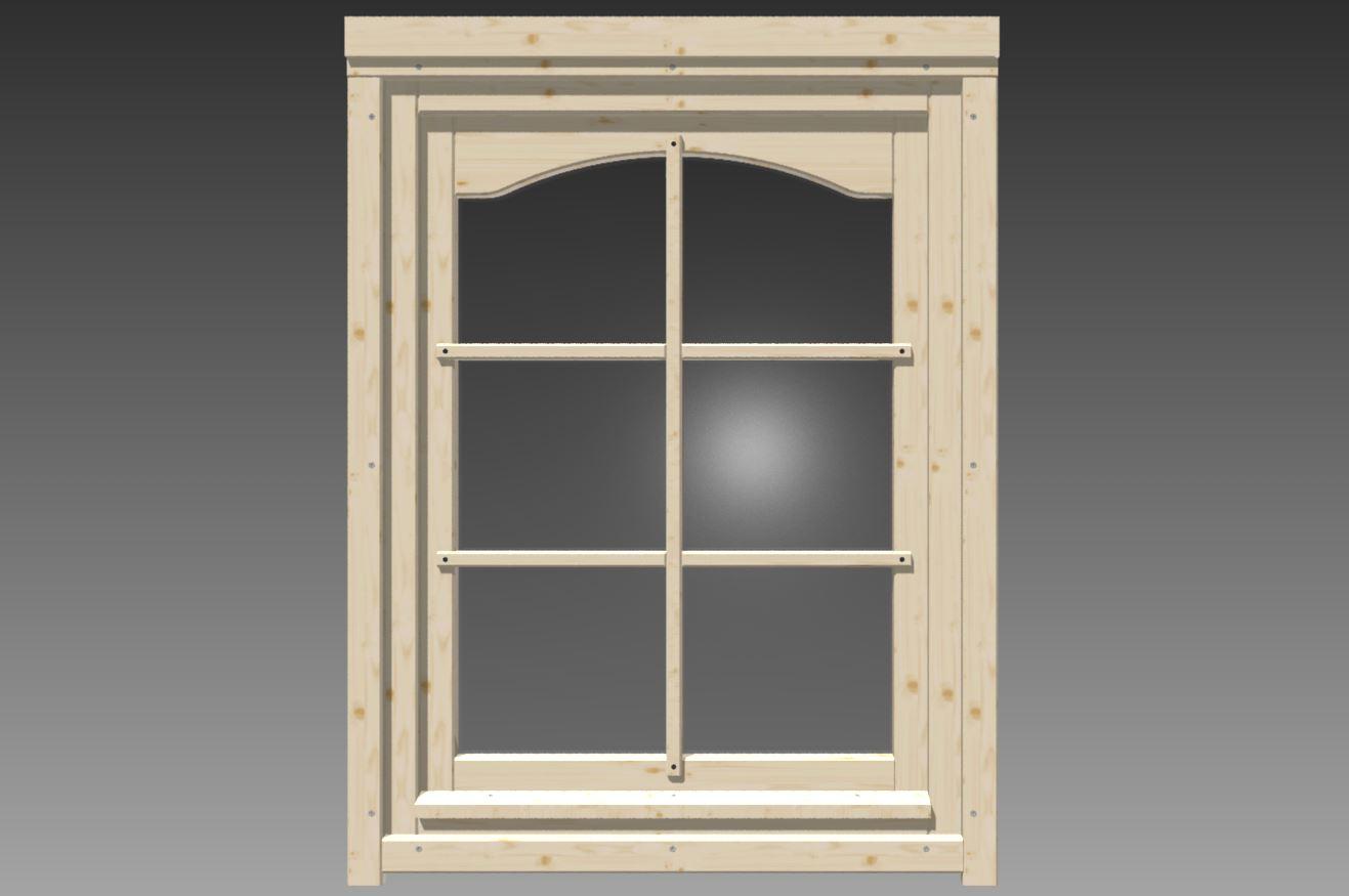 Fenster rundbogen gr e 0 765 x 0 99 m - Fenster auf kipp ...