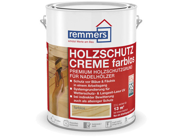 remmers holzschutz creme 5 00 liter im gartenhaus onlineshop. Black Bedroom Furniture Sets. Home Design Ideas