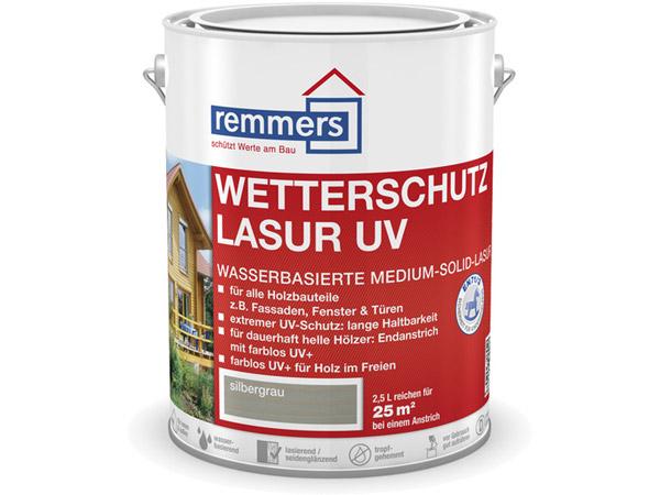 remmers wetterschutz lasur uv 5 00 liter im gartenhaus onlineshop. Black Bedroom Furniture Sets. Home Design Ideas