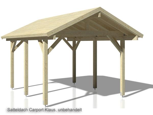 Satteldach carport robert größe 3 59 x 5 10 m