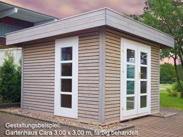gartenhaus cara 27 3 00 x 3 00 m. Black Bedroom Furniture Sets. Home Design Ideas