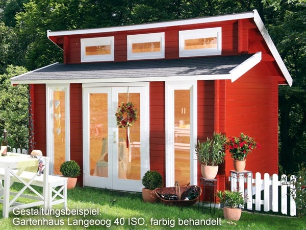 gartenhaus langeoog 40 iso 4 20x3 30m blockhaus gratis. Black Bedroom Furniture Sets. Home Design Ideas